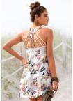 s.Oliver Beachwear Strandkleid, mit besonderem Trägerdesign