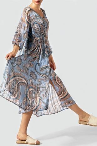 SECOND FEMALE Damen Kleid 53520/5028