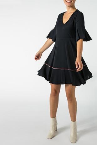 Tommy Hilfiger Damen Kleid WW0WW25632/403