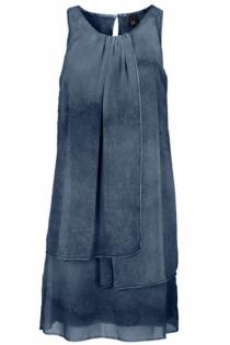 Trägerkleid im Lagen-Look